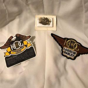 Harley pin set women's